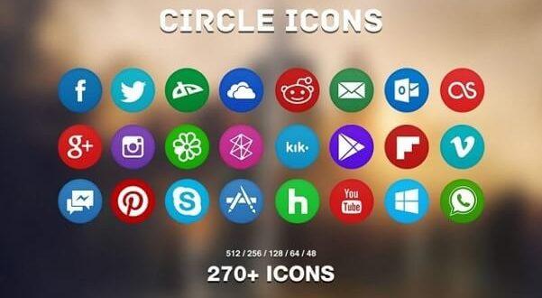 Free Modern Icons