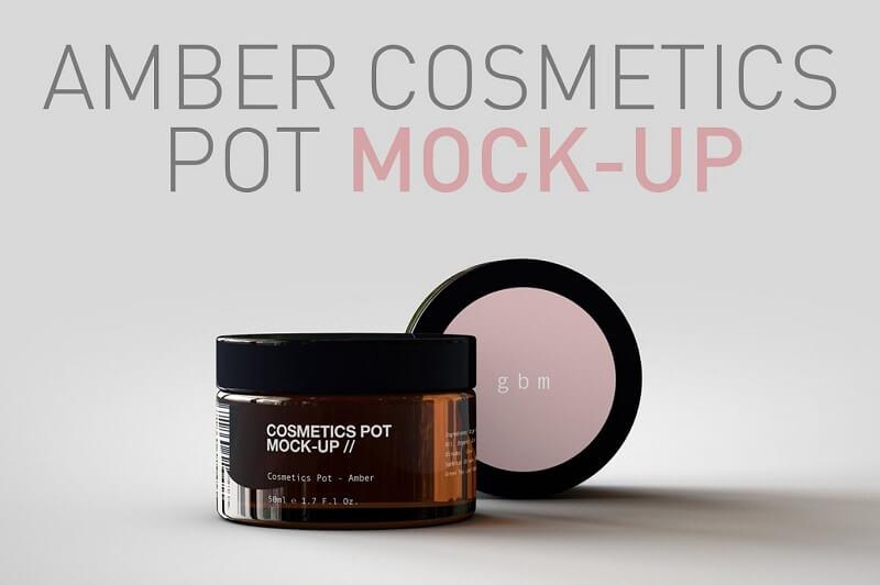Cosmetics Pot