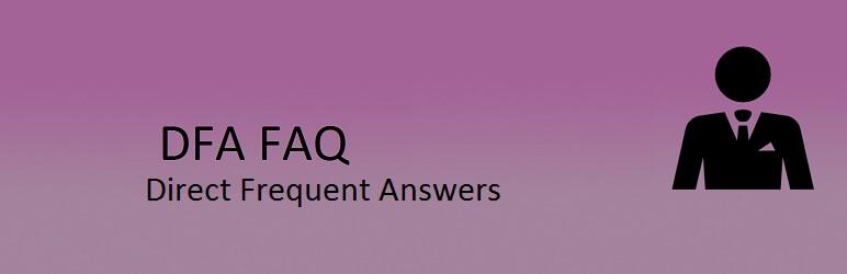 DFA FAQ