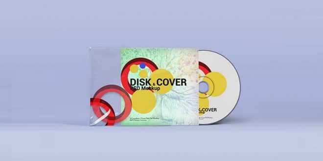 CD DVD Cover Mockups