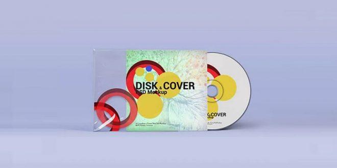 CD DVD Cover Mockups
