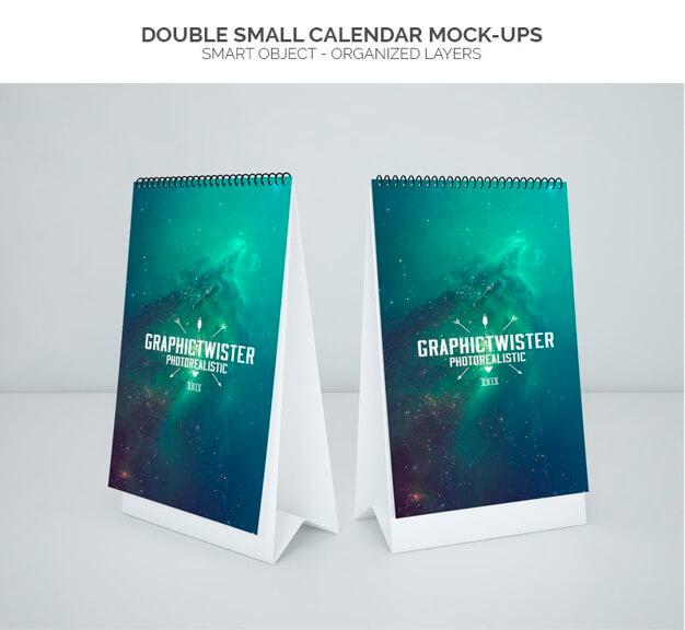 Double Small Calendar
