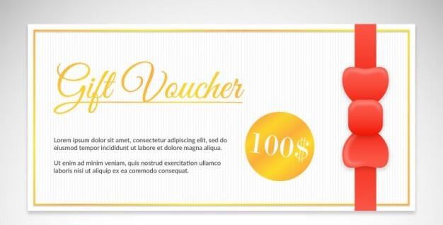 Elegant Gift Voucher Pack