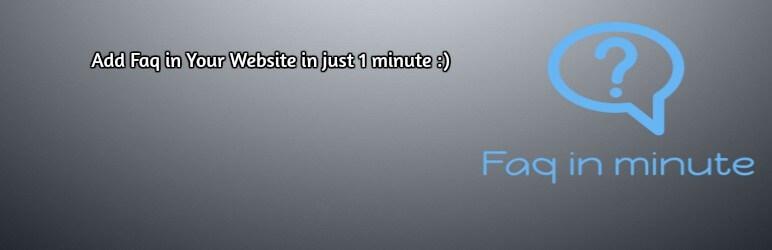 Faq in minute