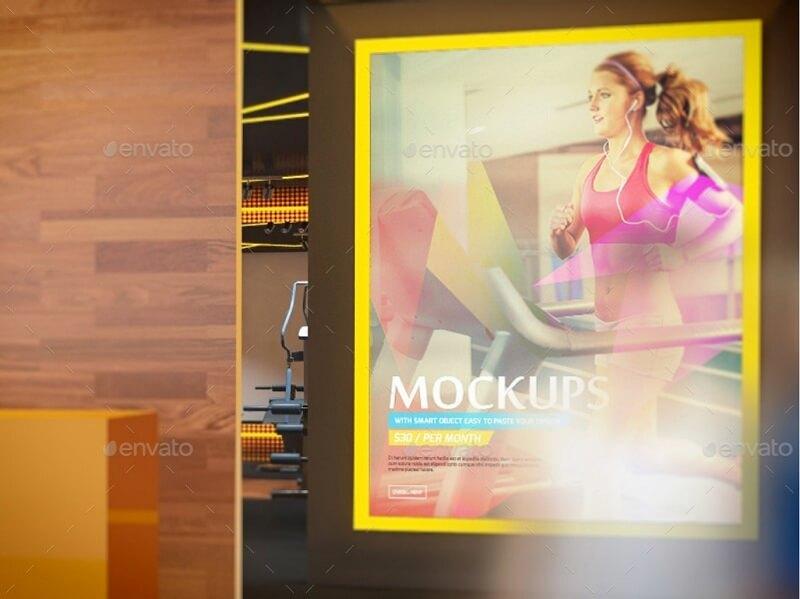 Fitness And Gym Interior Design Branding