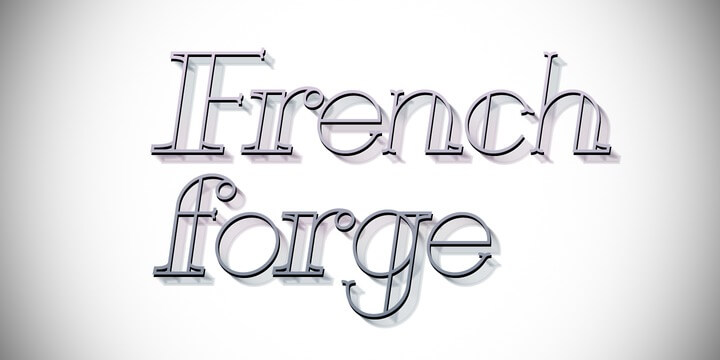 French forge