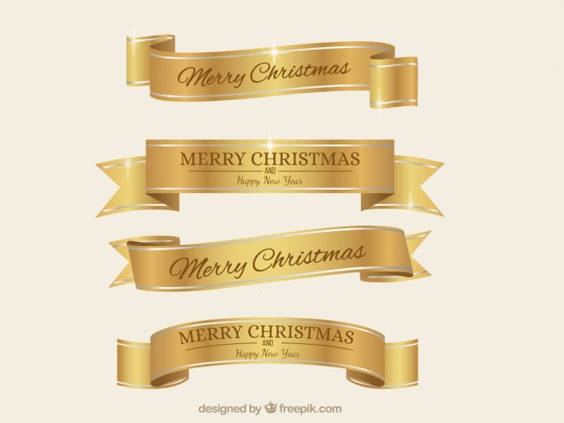 Golden Elegant Christmas