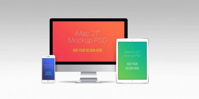 Free Apple Devices Mockups