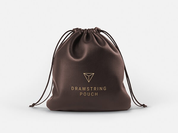 Leather Drawstring