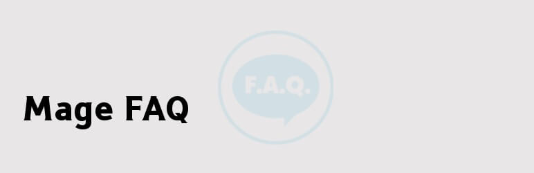 Mage FAQ