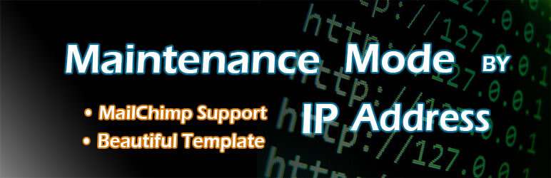 Maintenance Mode by IP Address