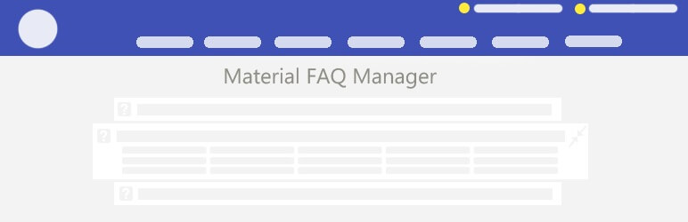 Material FAQ Manager