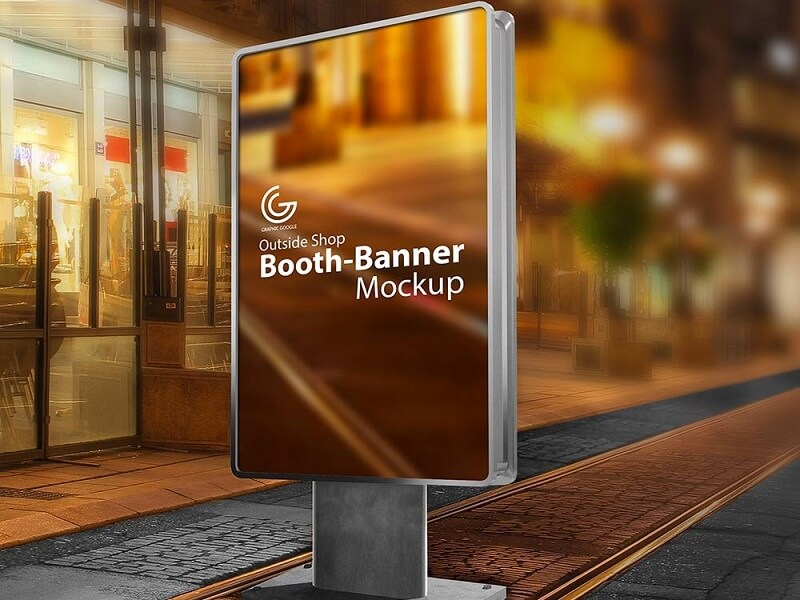 Outdoor Booth Banner