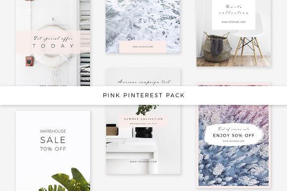 Pink Pinterest Pack