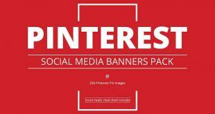 Pinterest Banner Templates