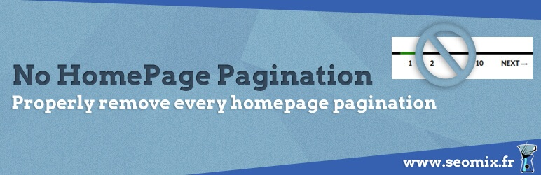 SX No Homepage Pagination