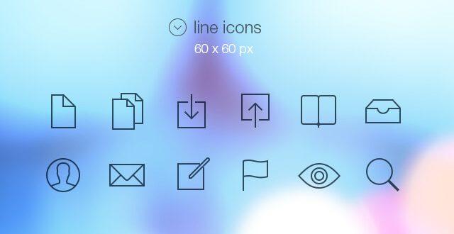 Free Glyph Icons