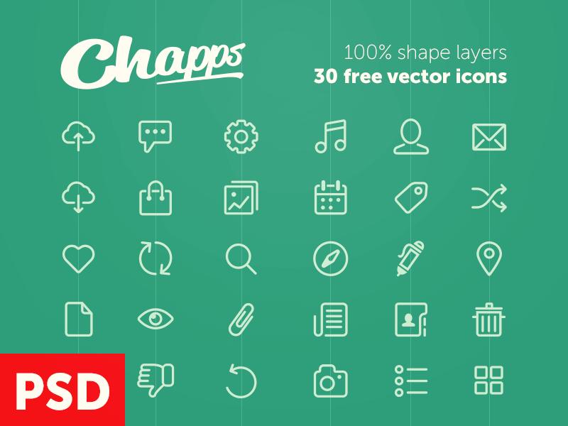 Vector Glyph Icons