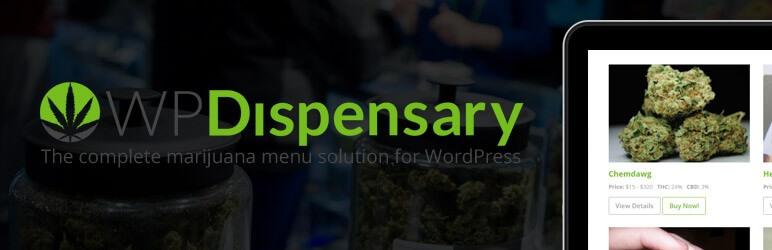 WP Dispensary menu management