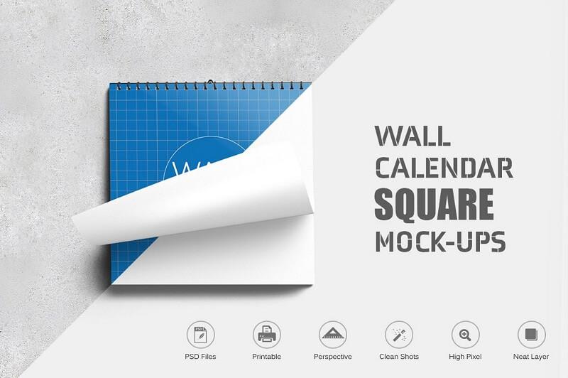 Wall Calendar Square