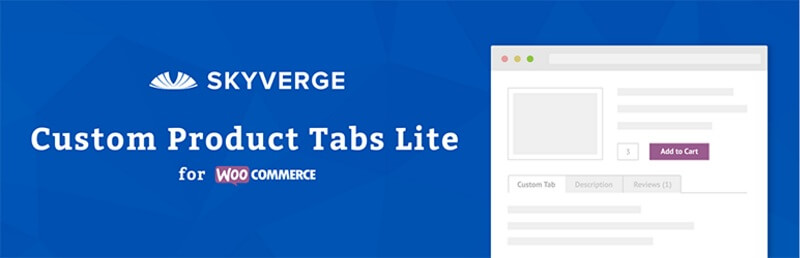 Custom Product Tabs Lite