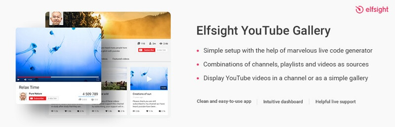 Elfsight YouTube Gallery