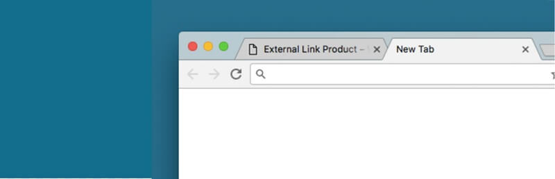 External Product New Tab