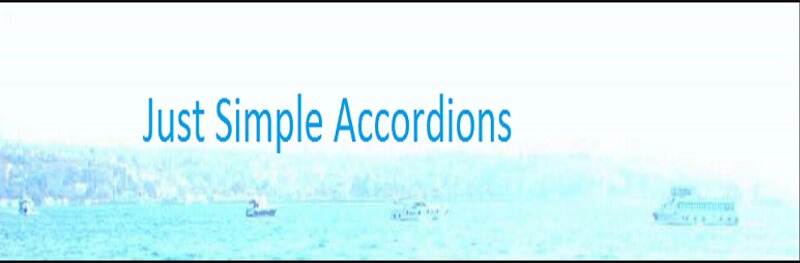 Just Simple Accordions