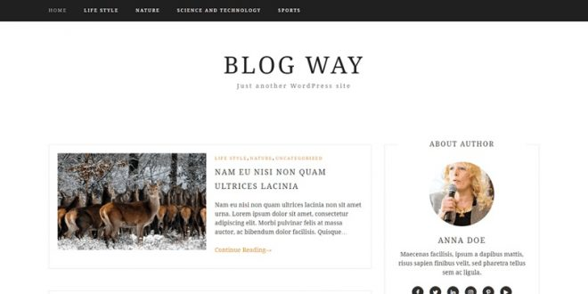 Free Blog WordPress Themes