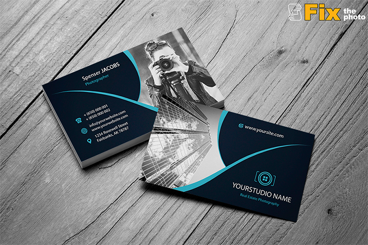 Photography Business Card Templates by FixThePhoto