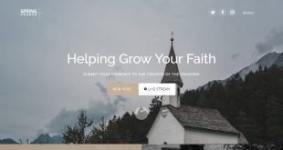 Free Church Html Website Templates