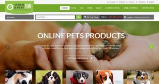 Free Animals And Pets PSD Website Templates