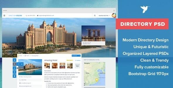 40 Best Directory PSD Website Templates