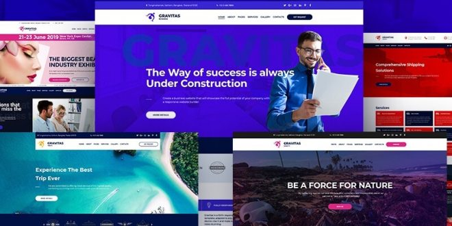News Portal HTML5 Templates