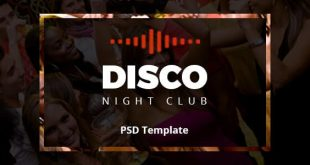 Night Club PSD Website Templates