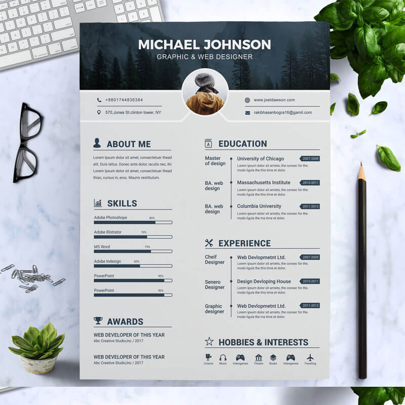 Johnson Graphic Designer