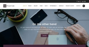Free Lawyer WordPress Themes