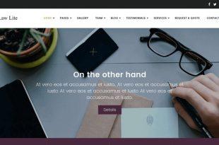 Free Lawyer WordPress Themes