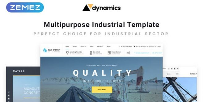 10 Top-Class Website Templates to Create Your Business Project