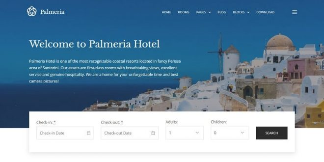 Free Hotel Booking WordPress Themes