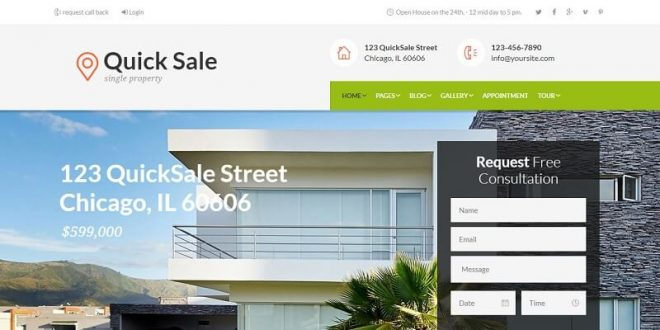 Real Estate HTML Website Templates