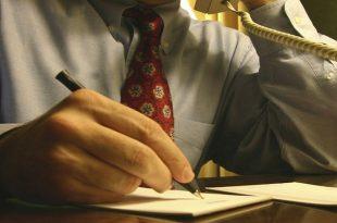 Writing Sales Notice