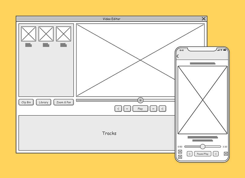 How to create wireframes Artboard 6