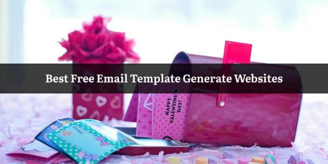 Free Email Template Generate Websites