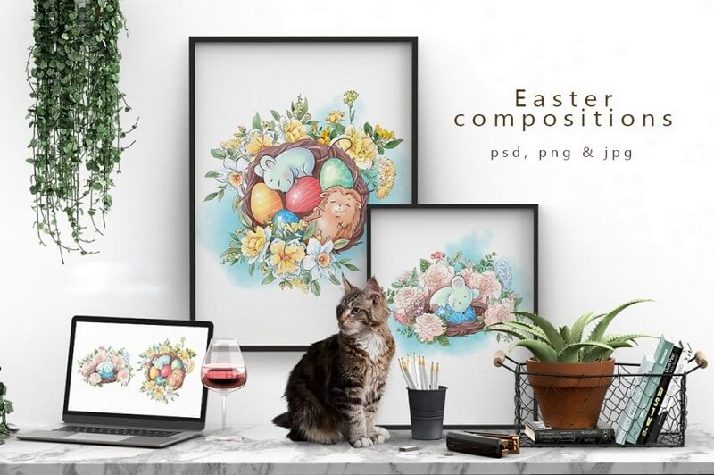 Easter Compositions