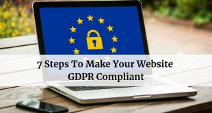 Steps To Make Your Website GDPR Compliant