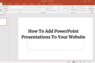 How to Add PowerPoint Presentations