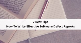 Write Effective Software Defect Reports