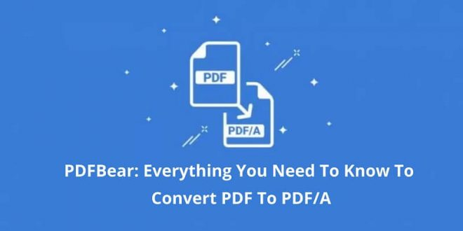Convert PDF To PDF/A