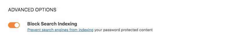 Password Protect Your Entire Site